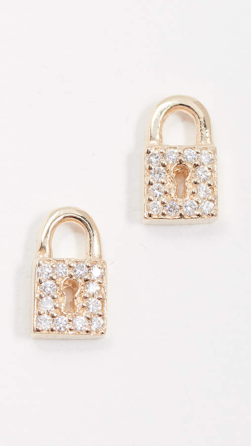 Small Key Hole Lock Studs