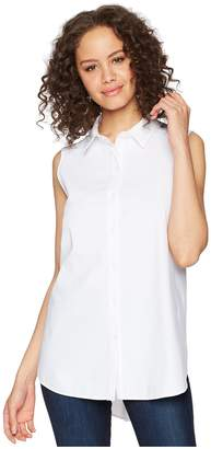 Lysse June Button Down Sleeveless Top Women's Clothing