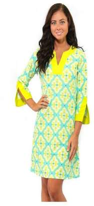 All For Color Lime Prescot Dress