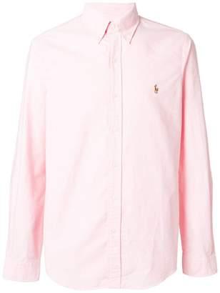 Ralph Lauren logo slim-fit shirt