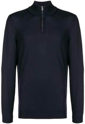 HUGO BOSS slim zipped sweater