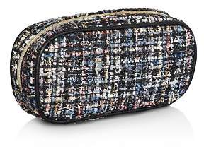 BCBGeneration Autumn Multicolor Tweed Camera Pouch