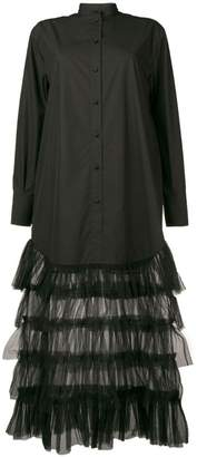 Valentino tulle skirt shirt dress