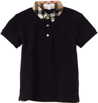 Burberry Boys' William Navy Polo Shirt