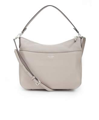 Kate Spade Polly Leather Slouch Shoulder Bag Colour: TAUPE, Size: One