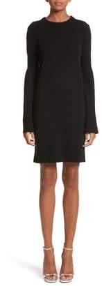 Michael Kors Cashmere Blend Bell Sleeve Dress