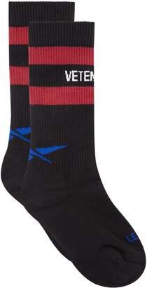 Vetements X Reebok Classic Socks