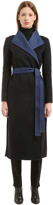 Agnona Belted Cashmere Cloth Coat