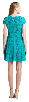 Cynthia Steffe Lace Fit-and-Flare Dress