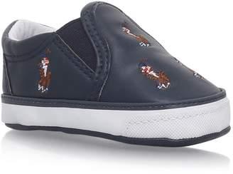 Ralph Lauren Pony Logo Sneakers