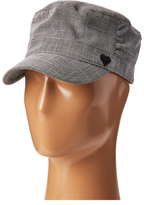 Life is good - Heart Pleated Cadet Traditional Hats $26 thestylecure.com