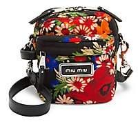 Miu Miu Women's Small Floral Crossbody Bag