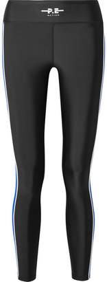 P.E Nation The Touchback Printed Stretch Leggings - Black