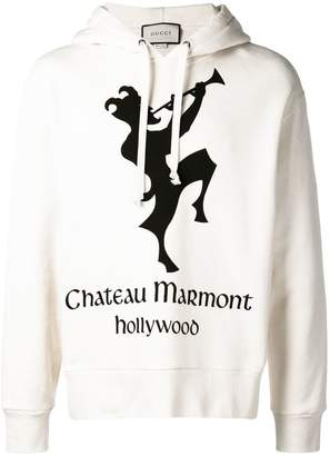 Gucci Hoodie with Chateau Marmont print