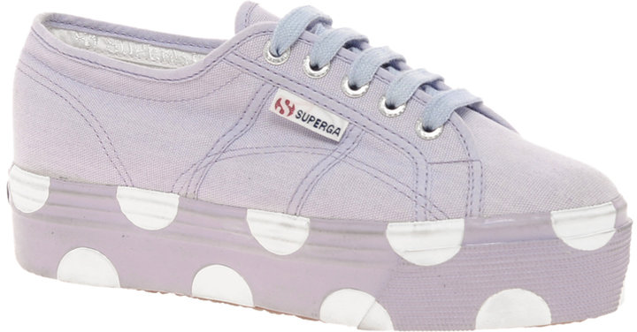 superga house of holland collaboration lilac dotted flatforms sold out. Black Bedroom Furniture Sets. Home Design Ideas