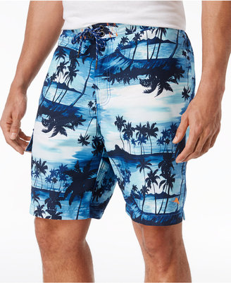 Tommy Bahama Men's Baja Sunset Island Swim Trunks. 9 $88 thestylecure.com