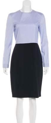 The Row Midi Long Sleeve Dress