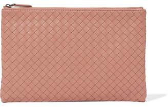 Bottega Veneta Intrecciato Leather Continental Wallet - Antique rose