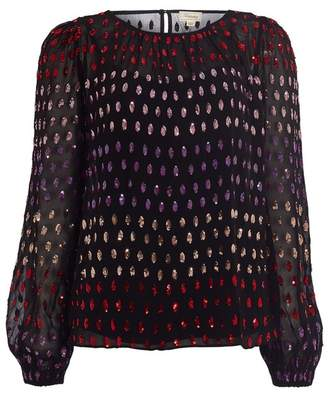 Temperley London Wendy Sequin Blouse