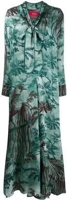 F.R.S For Restless Sleepers palm tree day dress