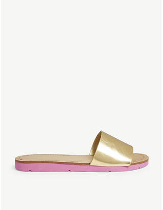 Aldo Gwayni metallic slides