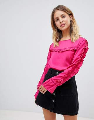 Only Frill Detail Blouse