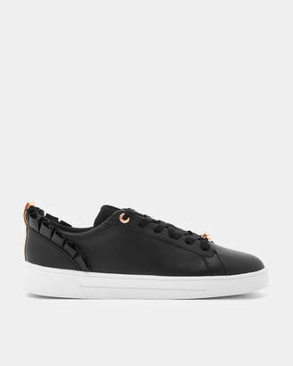 Ted Baker ASTRINA Ruffle detail sneakers