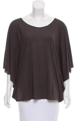 Elizabeth and James Short Sleeve Oversize Top