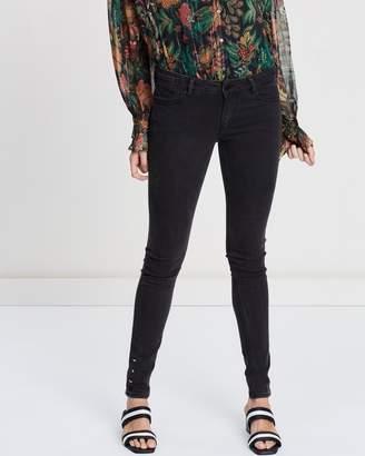 Maison Scotch La Parisienne Low-Rise Skinny Fit Jeans