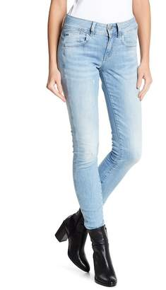 G-STAR RAW Lynn Mid Rise Skinny Jeans