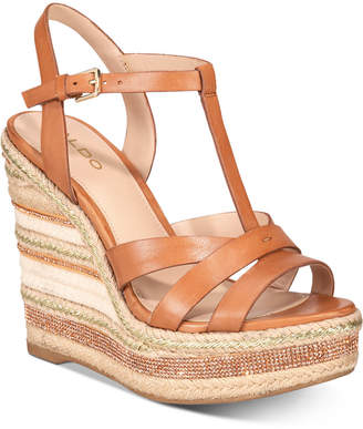 591893624b6 Aldo Nydaycia Wedge Sandals Women Shoes