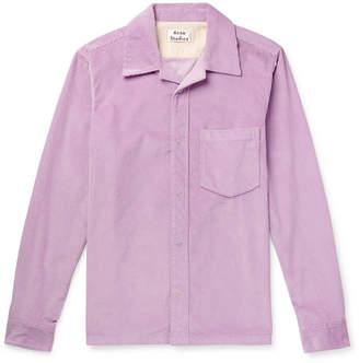 Acne Studios Denver Cotton-Corduroy Shirt