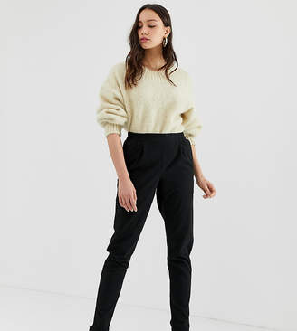 Noisy May Tall cigarette pants in black