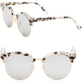 Gentle Monster Mooncut 55MM Pantos Tortoiseshell Sunglasses