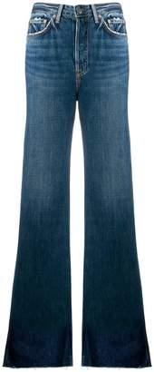 GRLFRND flared high waisted jeans