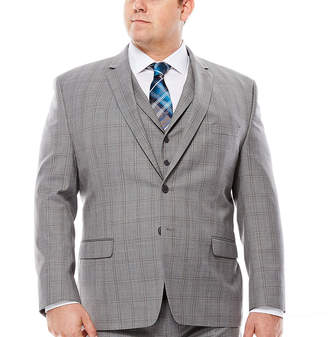 COLLECTION Collection by Michael Strahan Plaid Jacket - Big & Tall