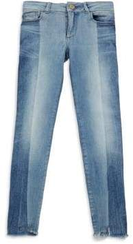 Chloé Girl's Washed Skinny Jeans