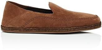 Ermenegildo Zegna Men's Suede Espadrille Loafers