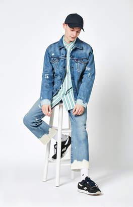 Levi's 501 Cutoff Crop Baez Bleach Jeans