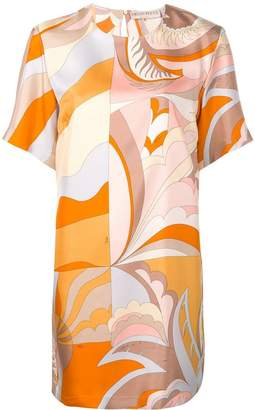 Emilio Pucci graphic print shift dress