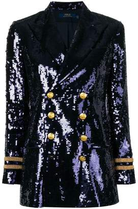 Polo Ralph Lauren sequinned blazer