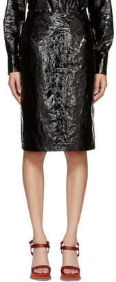 Sies Marjan Black Cyndi Pencil Skirt
