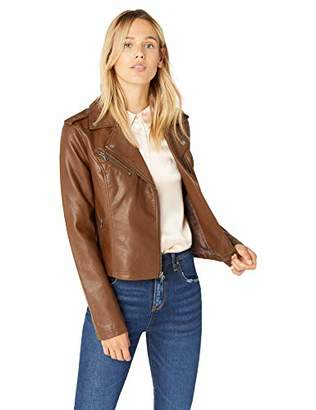 Levi's Women's Faux Leather Classic Asymmetrical Motorcycle Jacket