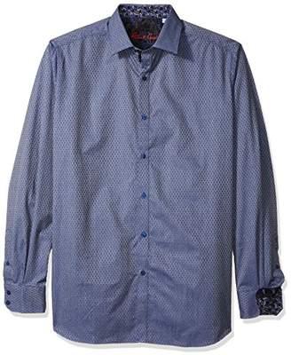 Robert Graham Men's Tall Size North Creek L/s Classic Fit Shirt