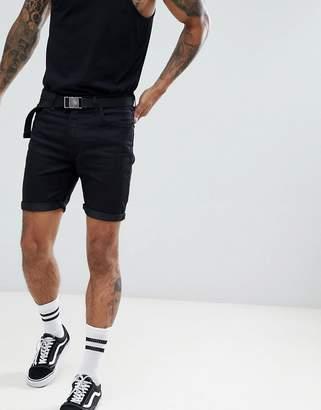 Lee Rider Shorts in Black