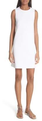 Tibi Back Cutout Sleeveless Crepe Dress