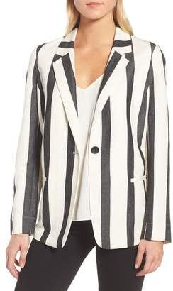 Trouve Stripe Blazer