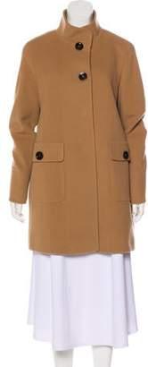 Cinzia Rocca Virgin Wool-Blend Short Coat