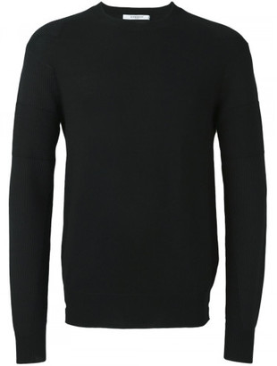 Givenchy contrast rib knitted sweater $650 thestylecure.com
