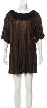 3.1 Phillip Lim Metallic Linen Dress